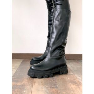 G.Glamour - Combact boots total black